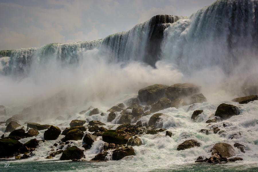 Niagara Falls Photograph - The Rocks Below by Pat Scanlon