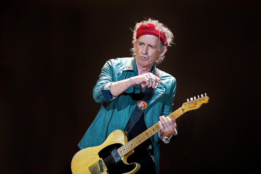 The Rolling Stones Perform At The 02 Photograph by Neil Lupin