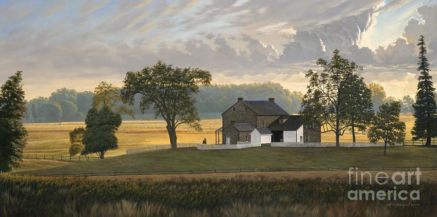 The Rose Farm Gettysburg Painting By David Henderson