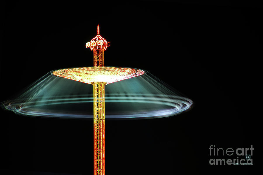Oktoberfest Photograph - The Rotating Skirt by Hannes Cmarits