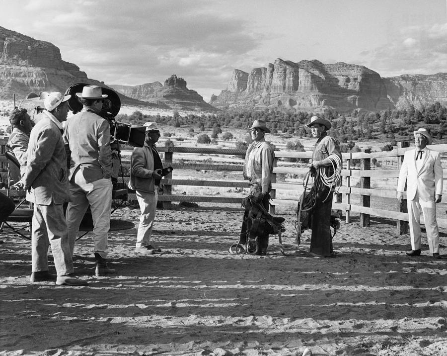 Arizona Photograph - The Rounders 2 by Bob Bradshaw