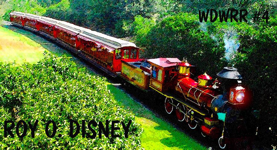 Artwork Painting - The Roy O. Disney by David Lee Thompson
