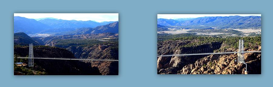Augustina Photograph - The Royal Gorge by Augustina Trejo