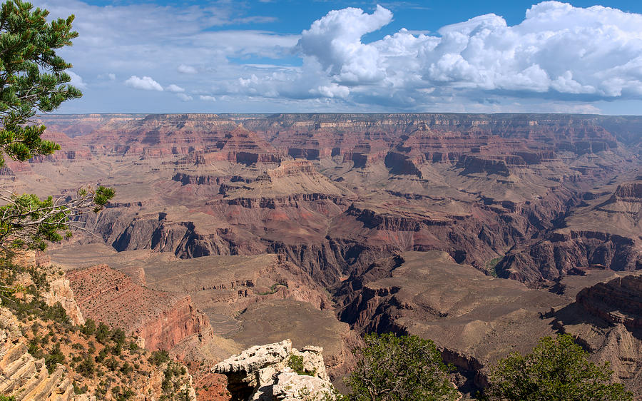 The Rugged Terrain of the Grand Canyon by John M Bailey