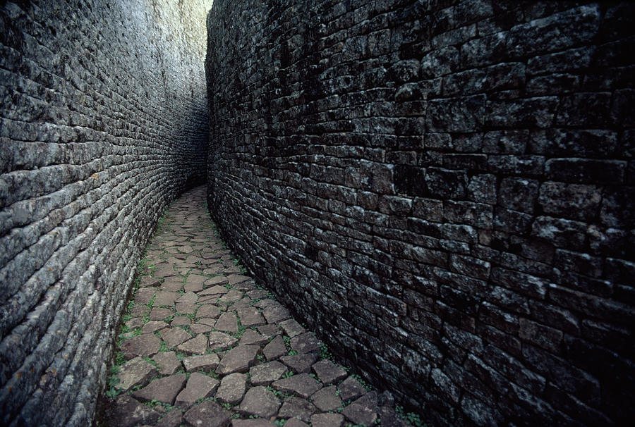 Boundaries Photograph - The Ruins Of Great Zimbabwe Were Built by James L. Stanfield