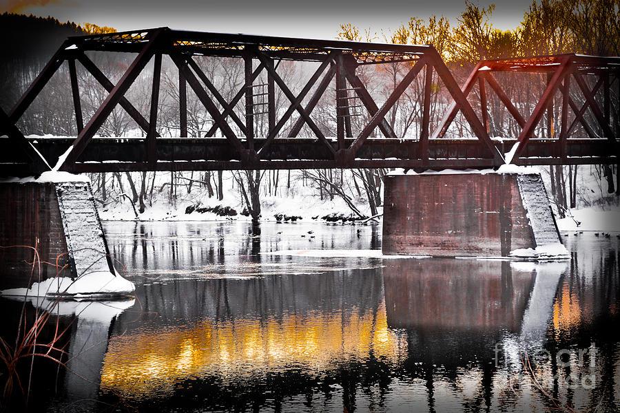 The Rusty Bridge Photograph