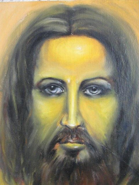 Portrait Painting - The Sacredness  by Sergey Selivanov