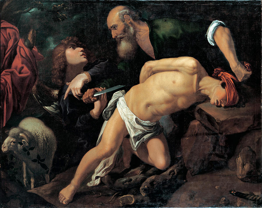 Pedro Orrente Painting - The Sacrifice Of Isaac by Pedro Orrente