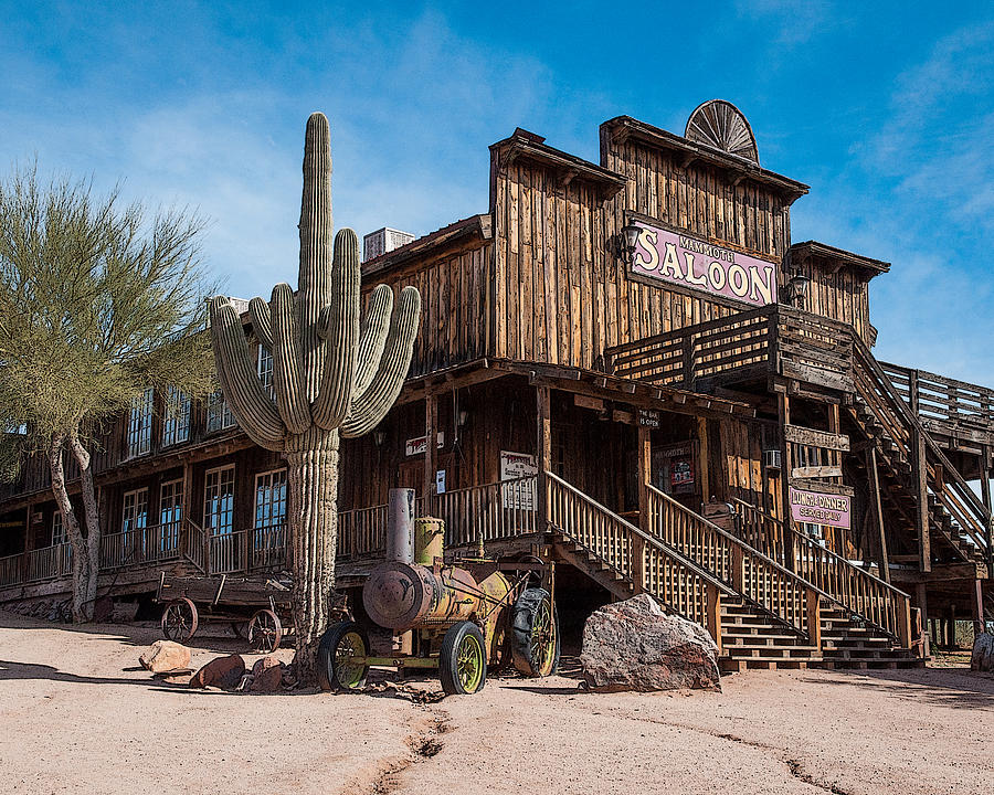 Old Saloon Stock Photo - Download Image Now - iStock