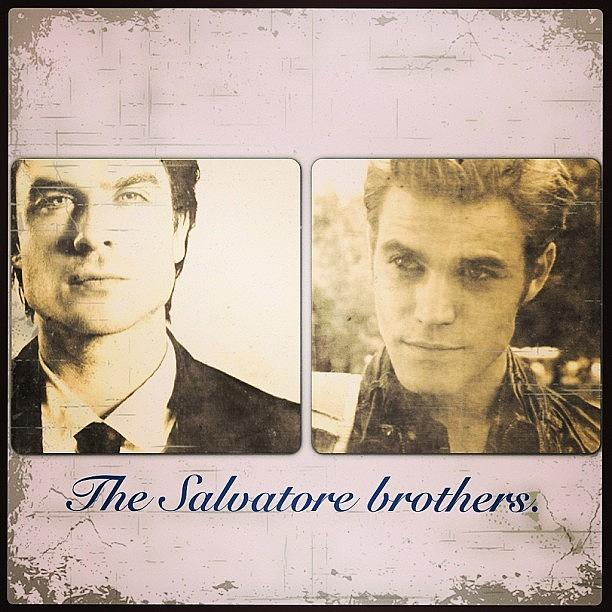 The Salvatore Brothers 😝 Photograph by Lauren Simmons