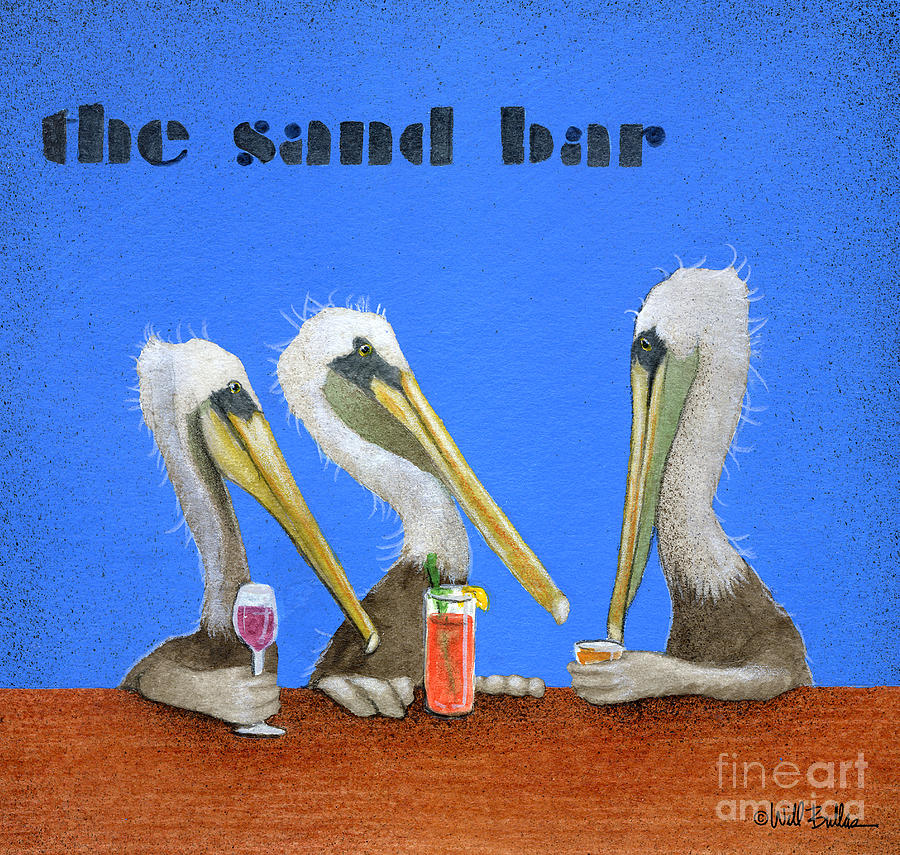 Will Bullas Painting - The Sand Bar... by Will Bullas