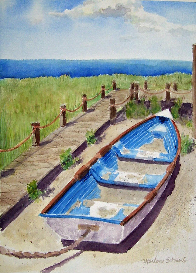 The Sandy Boat by Marlene Schwartz Massey