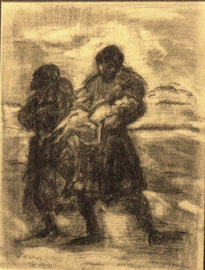 Savior Painting - The Savior by Helena Bebirian