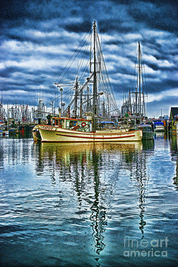 Hdr Photograph - The Savory Hdr by Randy Harris