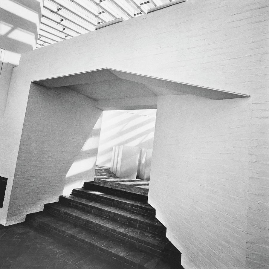 The Sculpture Gallery Of Architecture Philip Photograph by Horst P. Horst