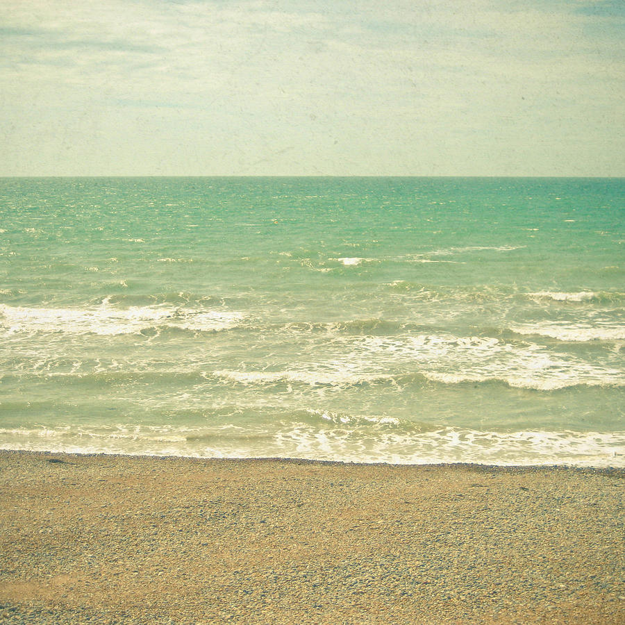 Landscape Photograph - The Sea the Sea by Cassia Beck