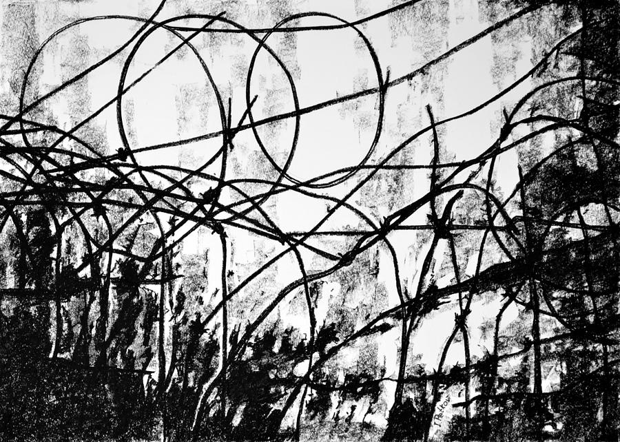 Drawing Drawing - The Search by Iliyan Bozhanov