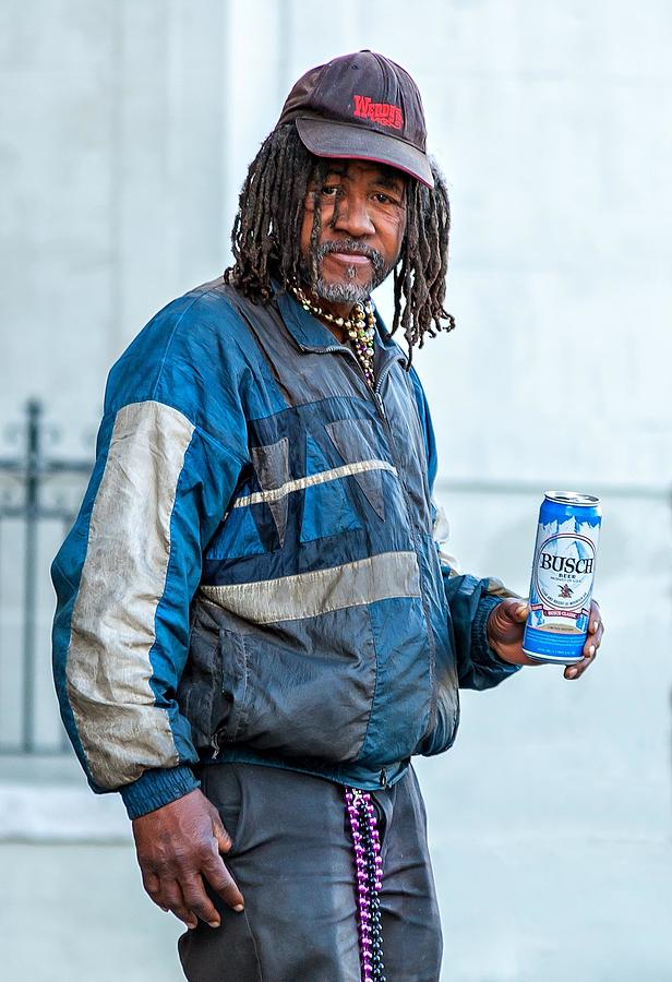 Nola Photograph - The Second Most Interesting Man In The World  by Steve Harrington