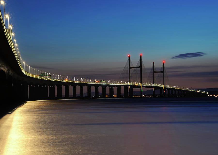 The Second Severn Crossing Photograph by Saffron Blaze