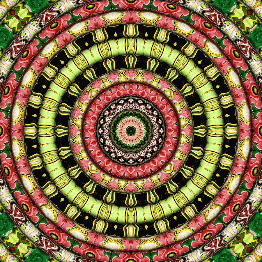 The Secret Garden Digital Art - The Secret Garden by Wendy J St Christopher
