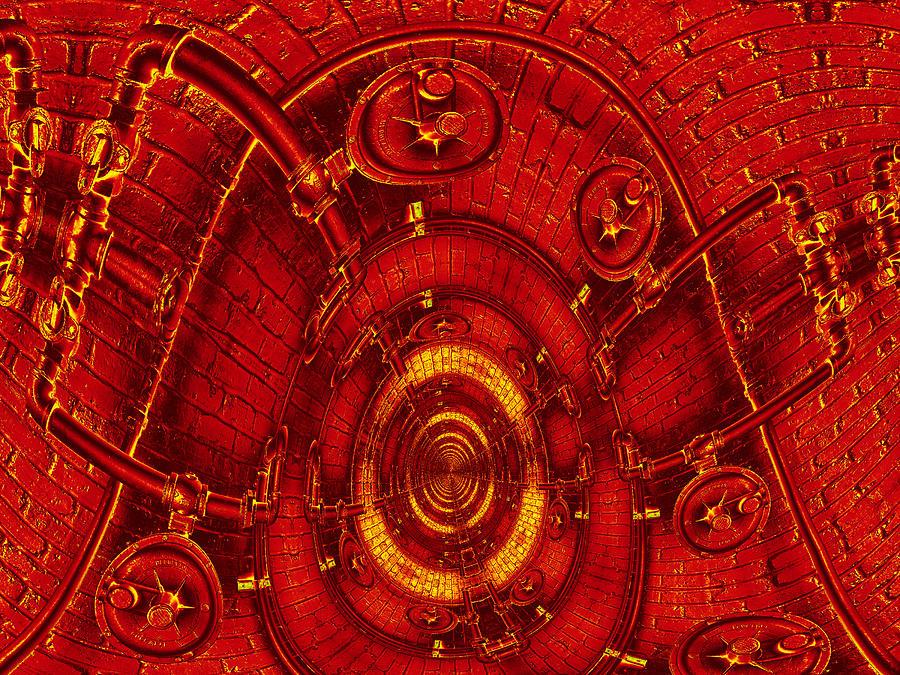 Art166 Digital Art - The Secret Life Of Hardware 3 by Wendy J St Christopher