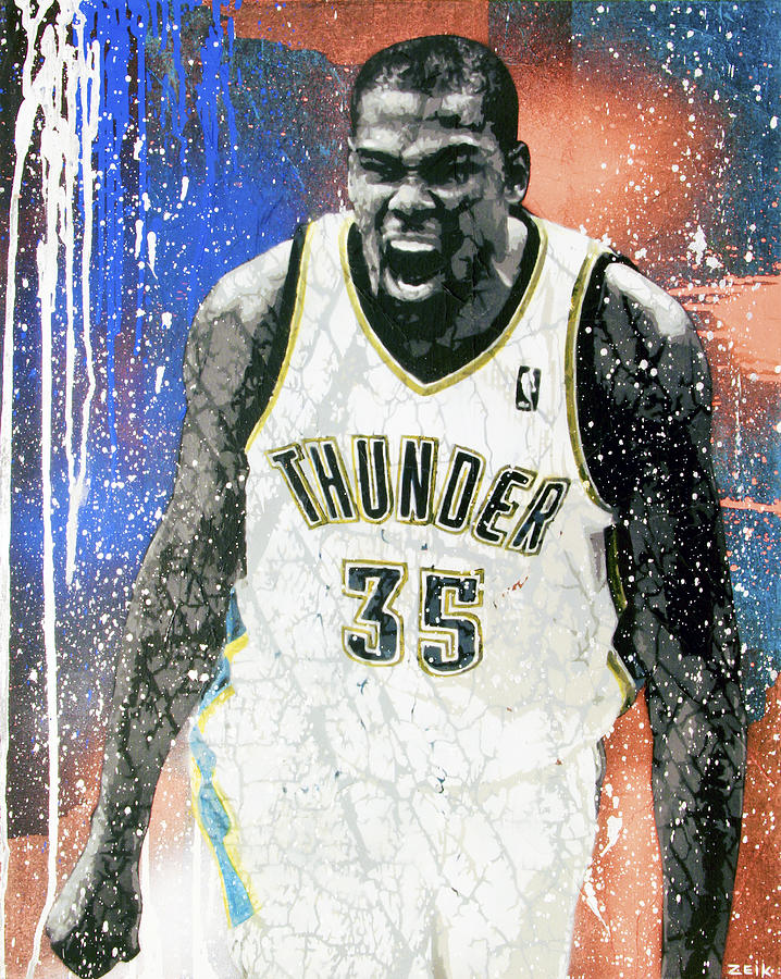 Kevin Durant Painting - The Servant  by Bobby Zeik