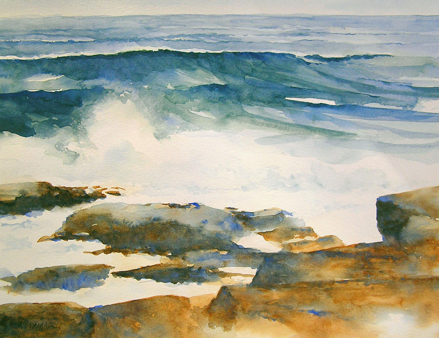 Wave Painting - The Seventh Wave by William Beaupre