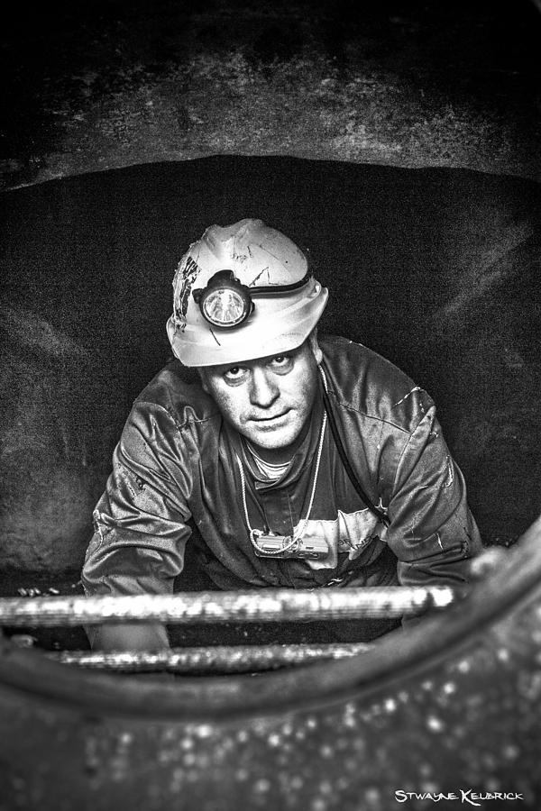 Portrait Photography Photograph - The Sewer Guy by Stwayne Keubrick