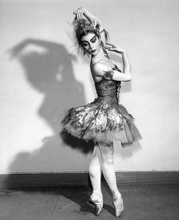 Ballet Photograph - The Shadow by Retro Images Archive