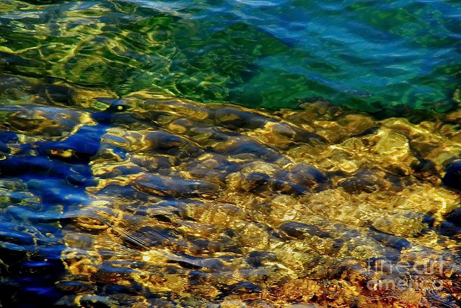 Water Photograph - The Shallows by Andrea Kollo