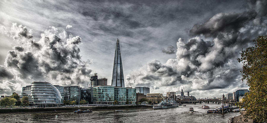 The Shard In Southwark Photograph