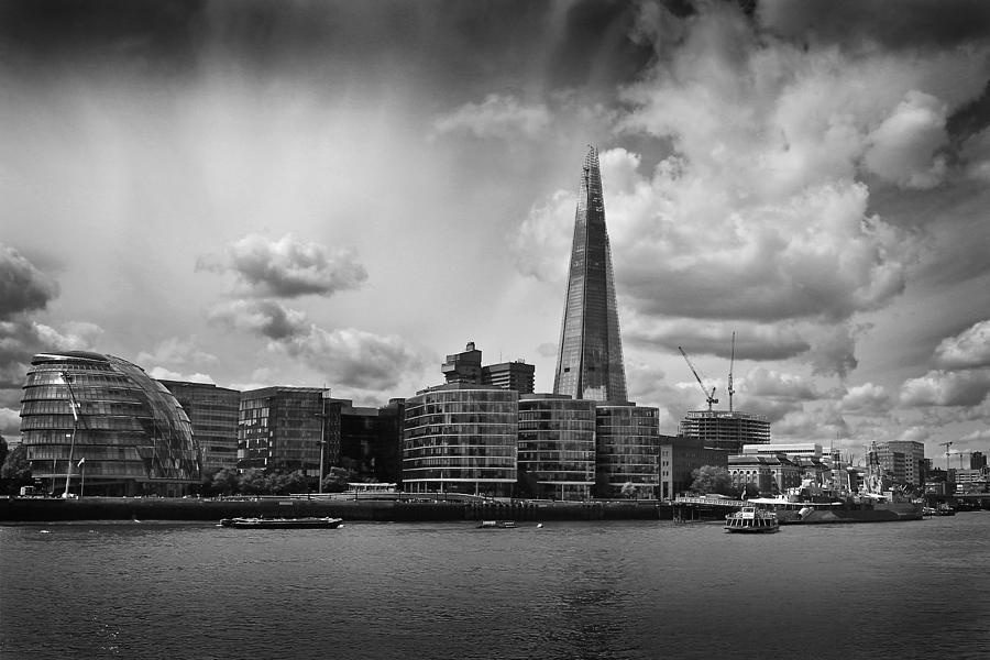 The Shard Photograph - The Shard London by Ed Pettitt