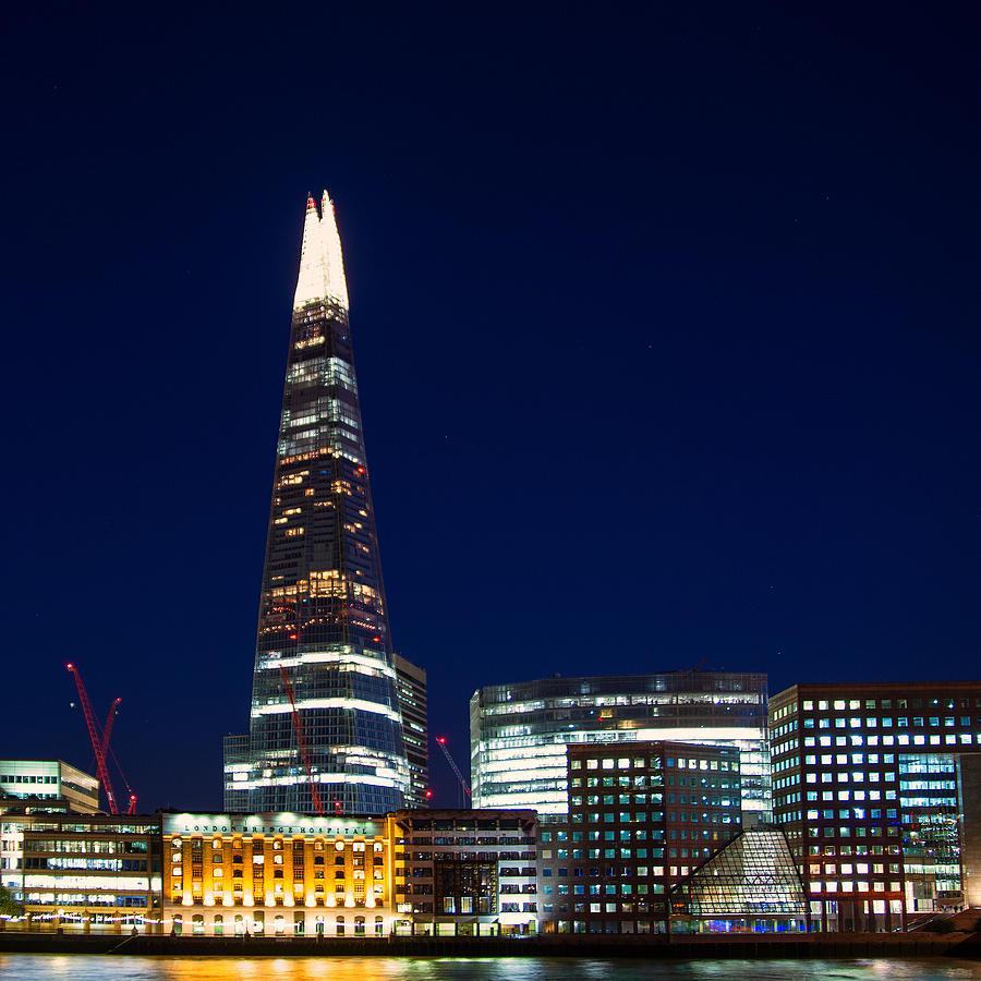 London Photograph - The Shard London by Wayne Molyneux