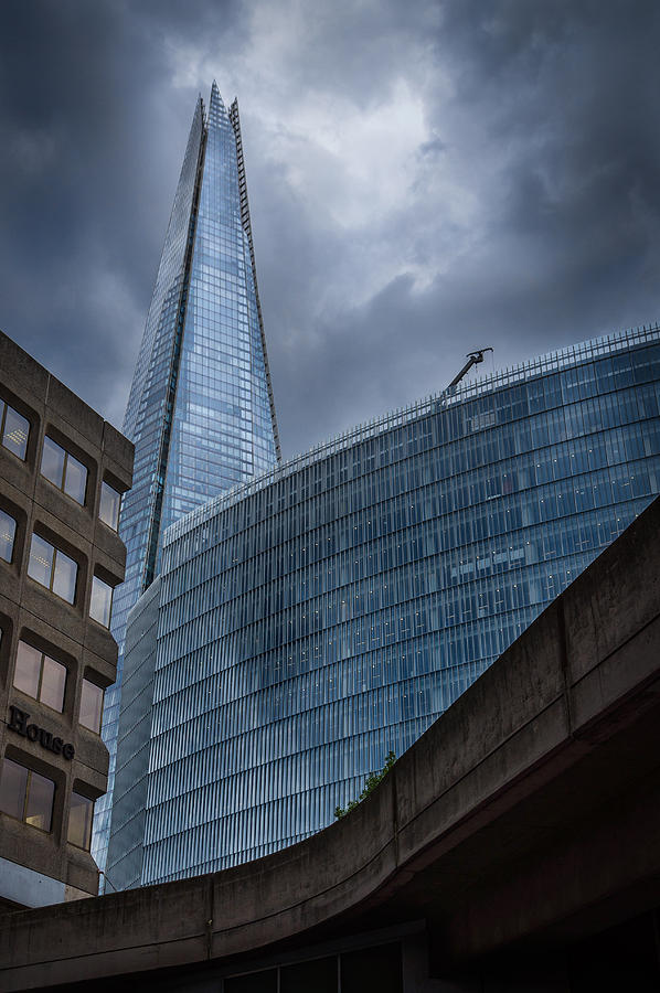 London Photograph - The Shard by Trevor Wintle