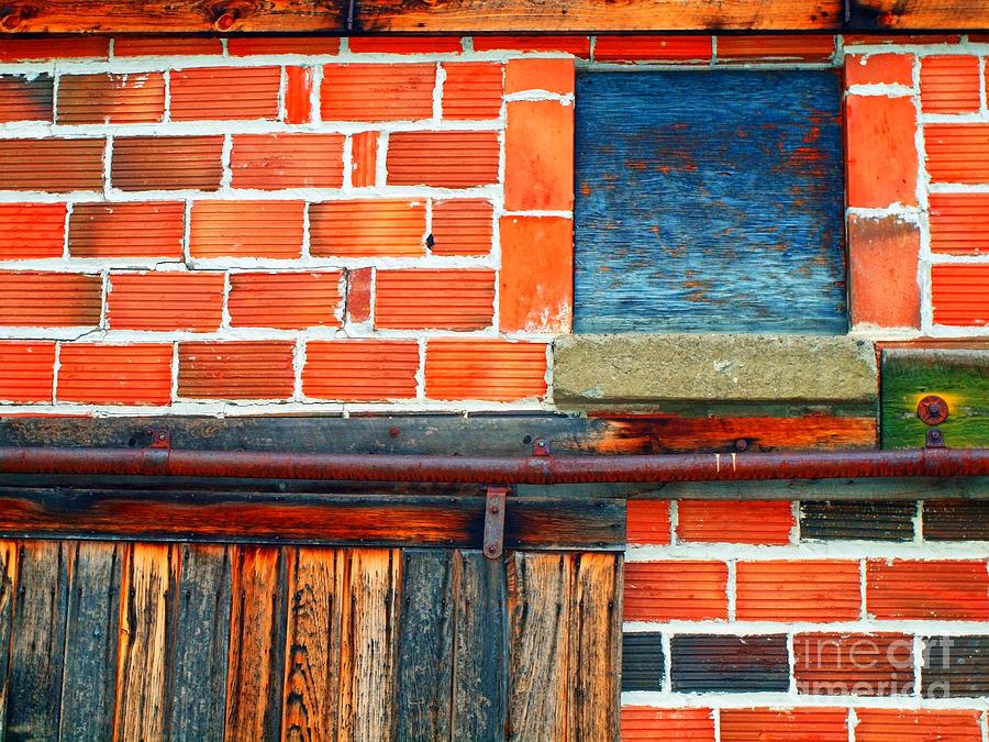 Brick Photograph - The Shed by Tara Turner