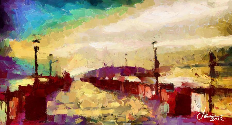 Shore Digital Art - The Shore Tnm by Vincent DiNovici