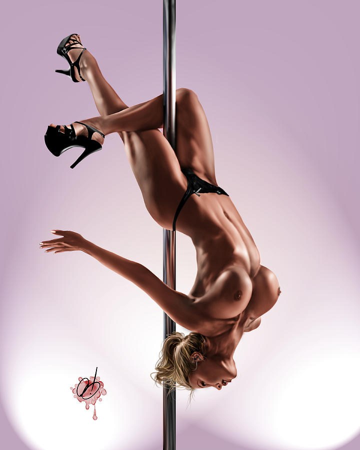 Pole Painting - The Show by Pete Tapang