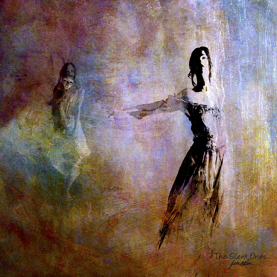 Light Digital Art - Silent Ones by Julie m Rae