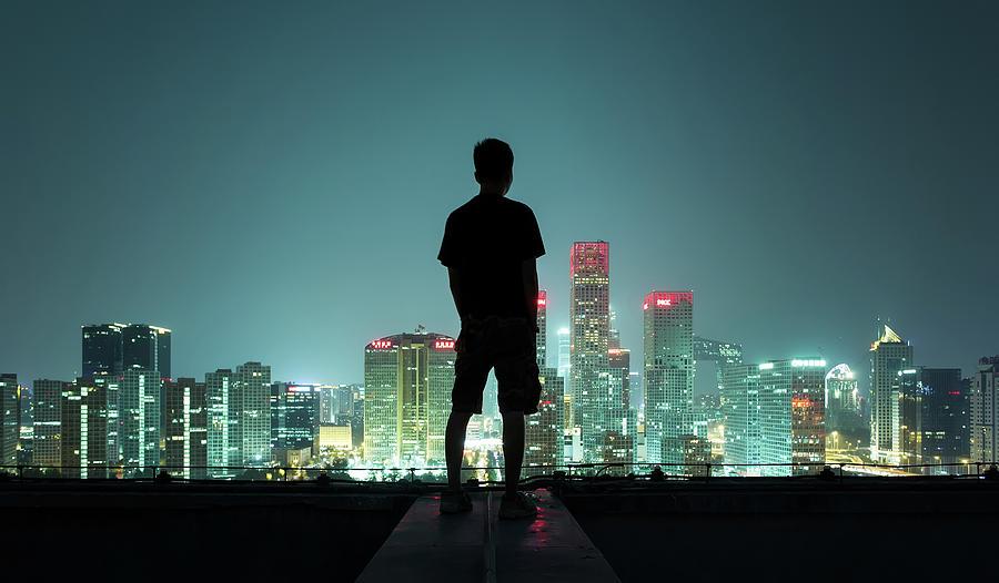 The Silhouette Portrait Photograph by Dukai Photographer