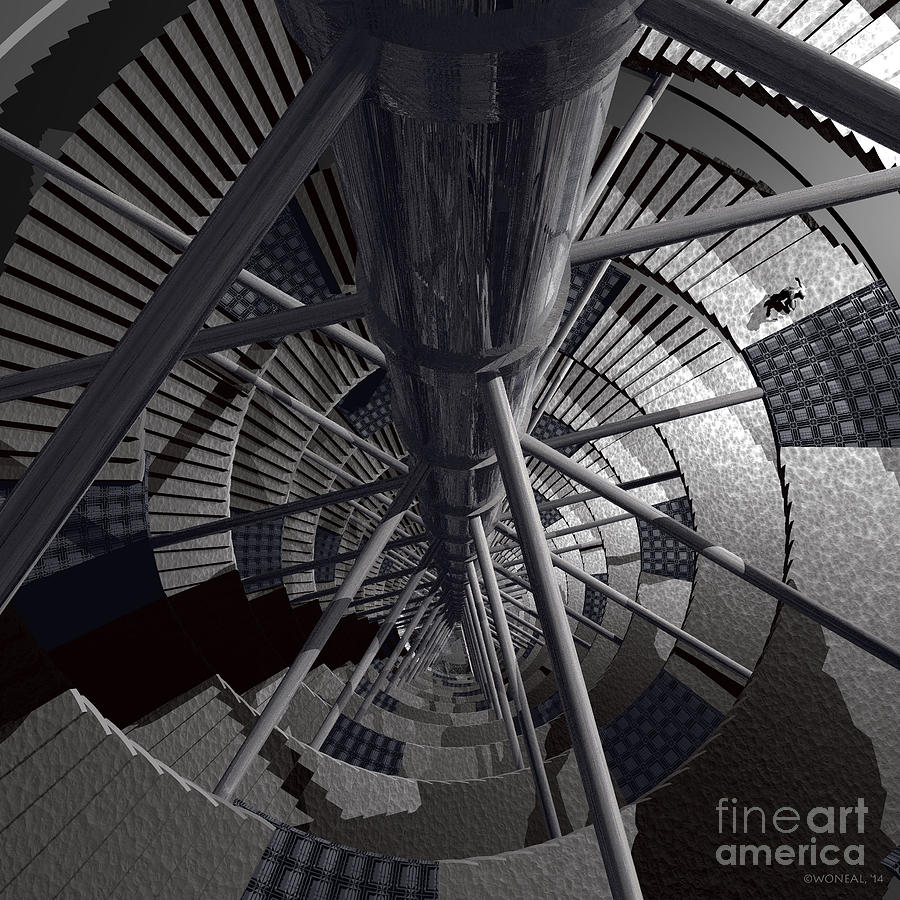 Science Fiction Digital Art - The Silo by Walter Neal