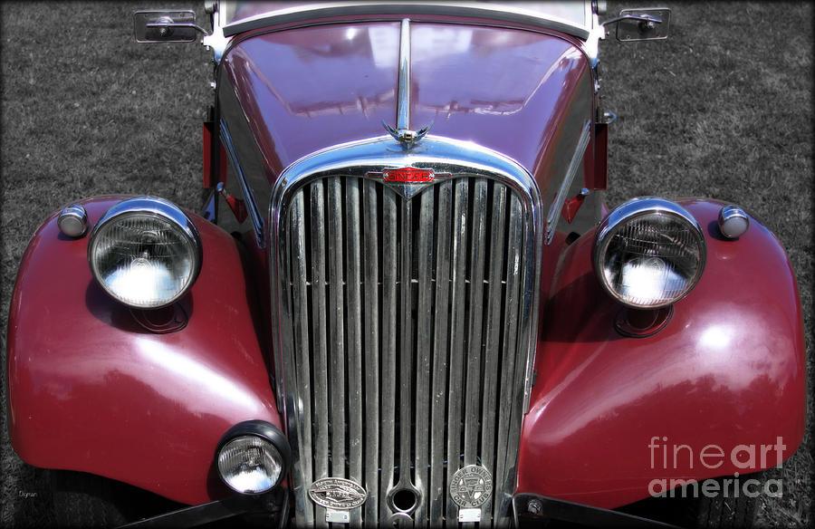 Car Photograph - The Singer Machine  by Steven Digman