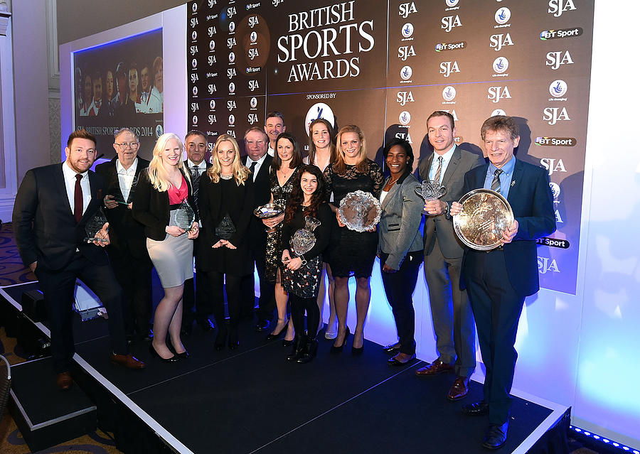 The SJA British Sports Awards 2014 Photograph by Tom Dulat