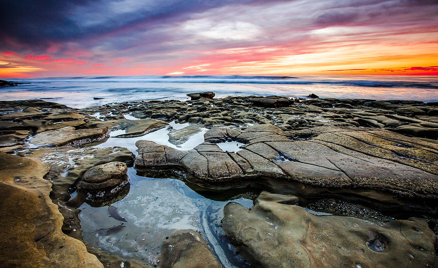 La Jolla Photograph - The Sky Is The Limit by Robert  Aycock