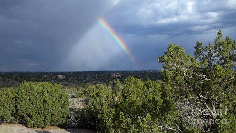 Rainbow Photograph - The Skys The Limit by Polly Anna