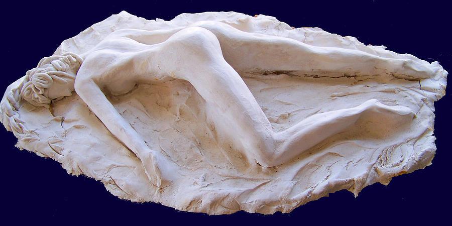 Pompeya Sculpture - The Sleeping Pompeiiana by Azul Fam