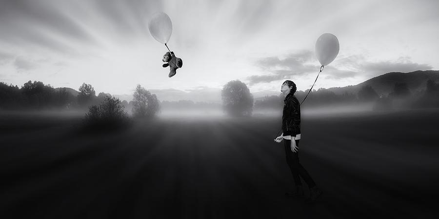 Dreamer Photograph - The Sleepwalking Dreamer by Martin Smolak