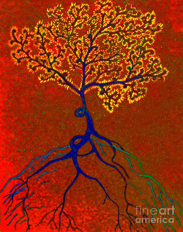 The Just Slightly Poisonous Tree Mixed Media