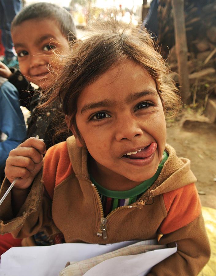 Natural Photograph - The Smile by Mandav  Prakash