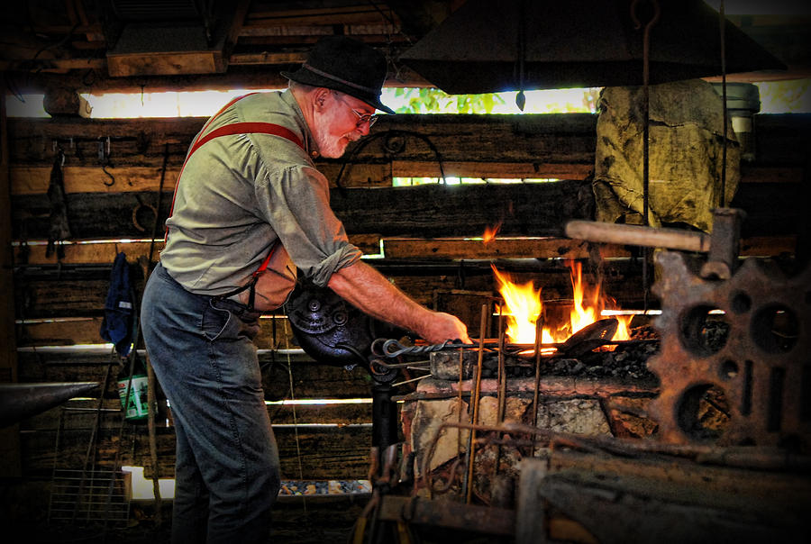 Blacksmith Photograph - The Smith by Kenny Francis