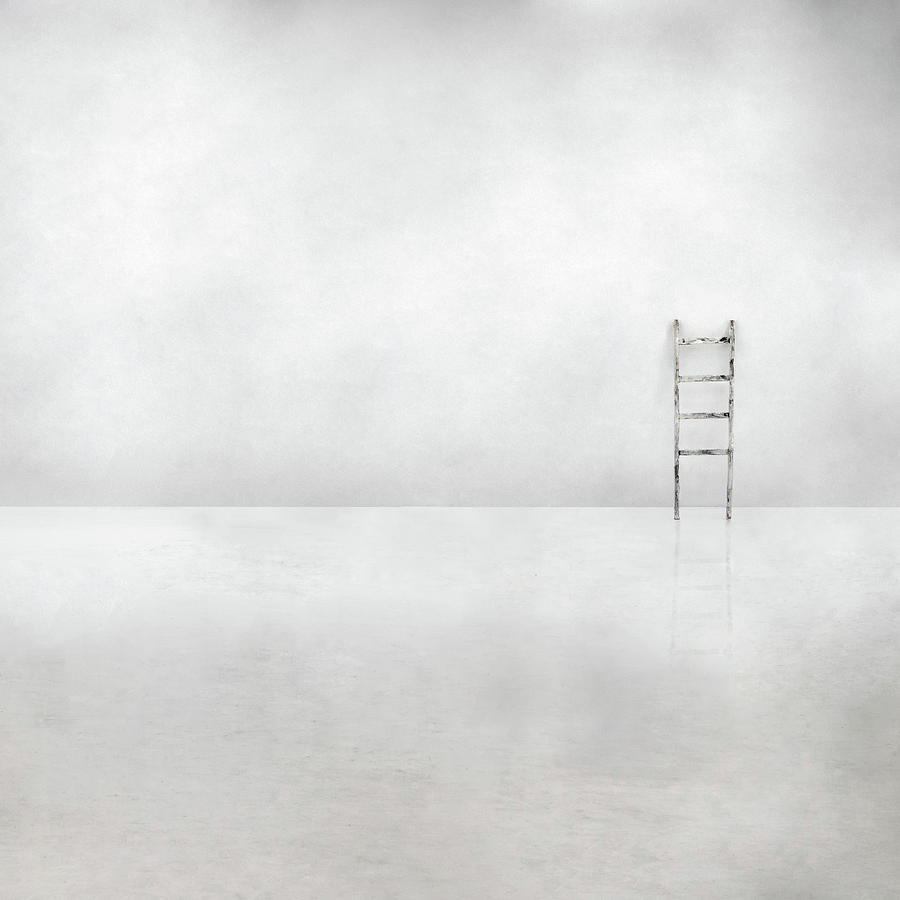 Abstract Photograph - The Social Ladder by Gilbert Claes